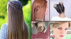 different easy hairstyles to do at home best 30 diy hairstyles you can do at home easy hairstyles step by step 9 youtube
