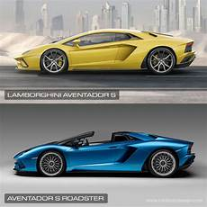 lamborghini aventador s roadster vs coupe lamborghini aventador s roadster car body design