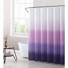 Purple Shower Curtain Walmart mainstays purple ombre fabric shower curtain 1 each
