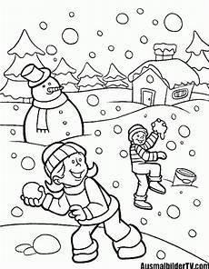 Kostenlose Malvorlagen Winter Ausmalbilder Winter Ausmalbilder Winter Ausmalbilder