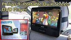 dvd player auto philips dual 9 quot headrest screen dvd player for your car