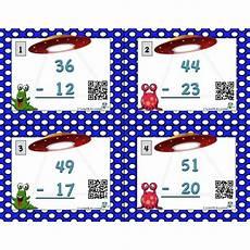 Malvorlagen Advent Qr Code Cartes Soustractions 224 2 Chiffres Avec Code Qr