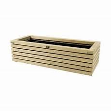 bac en bois elan 120 x 50 x h 30 cm castorama