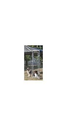 chenil pour chien pas cher en m 201 tal gardenpark animaloo