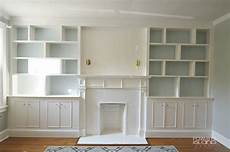 How To Built In Bookshelves built in bookshelves