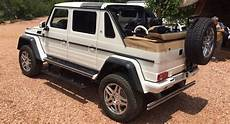 new mercedes maybach g650 landaulet appears before we were
