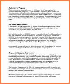 company credit card policy templates 5 company credit card policy template company letterhead