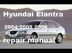 Hyundai Elantra Service Manual
