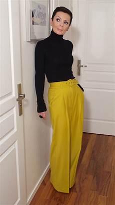 moduxe article sp 233 cial lookbook pantalon couleur moutarde