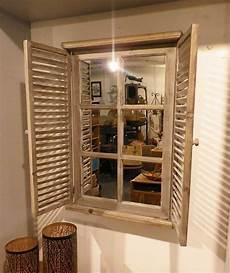 miroir fenetre miroir fen 234 tre bois persienne
