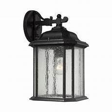 sea gull lighting kent 1 light outdoor wall lantern reviews wayfair