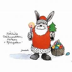 janosch postkarte fr 246 hliche weihnachten ostern und pfingsten