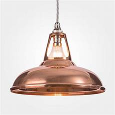 coolicon industrial copper pendant light by artifact lighting notonthehighstreet com