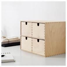 Ikea Mini Kommode Birkensperrholz Holz Schubladen