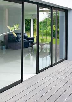 largeur baie vitrée installation de baie vitr 233 e alu sur mesure neuf et