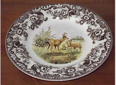 Spode Woodland Dinner Plates & Image Is Loading 4 x Spode