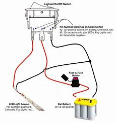 off switch led rocker switch wiring diagrams oznium