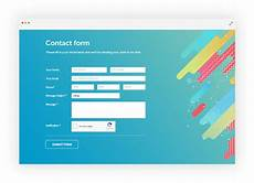 how to create online forms for website how to make a working contact form in html 123formbuilder