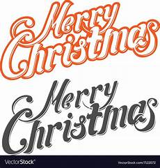 merry christmas letters royalty free vector image