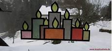 Fensterbilder Transparentpapier Vorlagen Weihnachten Fensterbild Adventskerzen