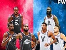2019 nba all star game mock draft team lebron vs team giannis full selection fadeaway world