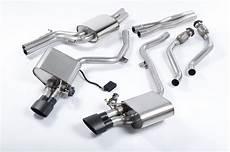 milltek cat back exhaust system ssxau380 audi s4 3 0 supercharged v6 b8 s5 3 0 tfsi b8