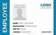 how to make id card template in word id card template word 5 professional designs microsoft