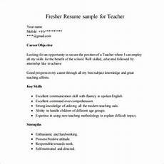 resume sles for teachers freshers pdf career objective for resume for fresher teacher career