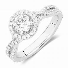 sir michael hill designer grandadagio engagement ring with 1 1 2 carat tw of diamonds in 14kt