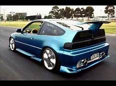 puissance crx tuning techno