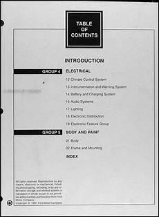 1998 lincoln town car original repair shop manual 2 volume set 98 workshop oem ebay 1998 lincoln town car repair shop manual original 2 volume set