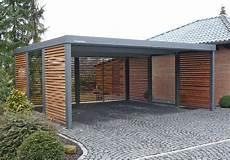 Carport Holz Metall - carport aus metall mit flachdach home decor ideas in