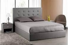 tete de lit grise t 234 te de lit capitonn 233 e grise 160x200 orlena t 234 te de lit pas cher