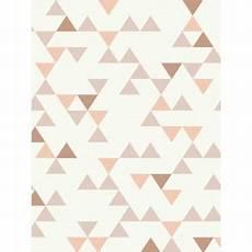 Papier Peint Vinyle 224 Motif Scandinave Petits Triangles