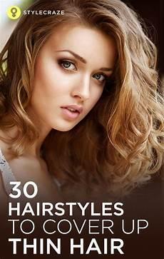 40 stunning hairstyles that make thin hair thick thin wavy hair hair styles medium hair