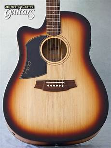 clark guitar jerry s lefty guitars newest guitar arrivals updated weekly cole clark fl1ac sunburst left