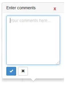 textarea editing bootstrap editable dialogue box adding button the top stack