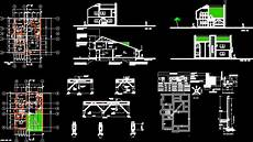 autocad house plan tutorial house design in autocad download cad free 749 75 kb