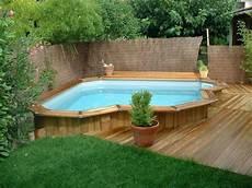 piscine semi enterrée en bois photo des plus belles piscines en bois piscine piscine