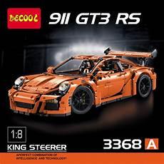technic porsche 911 gt3 rs lego 42056 decool 3368