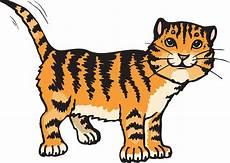 27 Gambar Kartun Harimau Clipart Koleksi Kartun Hd