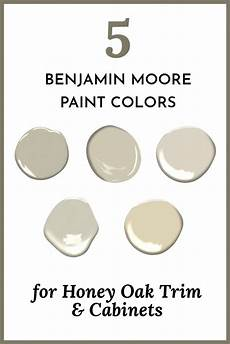five benjamin paint colors for honey oak trim cabinets