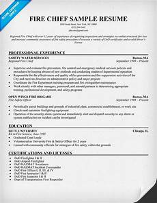 by resume companion resume sles across all industries firefighter resume web