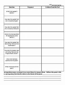 poetry analysis practice worksheet 25530 quot quot by pat mora poem analysis worksheet poet tpt