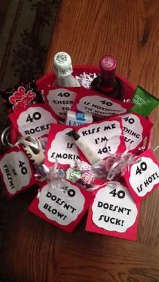 40 geburtstag geschenk 40 birthday gift basket ideas birthday in 2019 40th