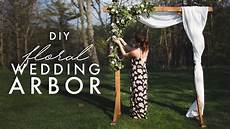 diy wooden arch for weddings youtube