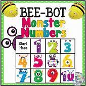 BeeBot Monster Numbers – Della Larsens Class