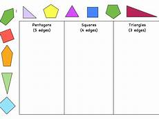 sorting worksheets year 1 7729 sorting 2d shapes teaching resources