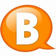 b orange speech balloon orange b icon speech balloon orange iconset iconexpo