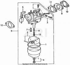 honda parts diagram honda eg1500k4 a generator jpn vin g200 1000107 parts diagram for carburetor 2